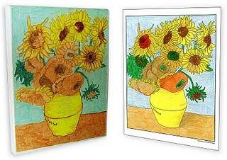 Van Gogh Canvas Post