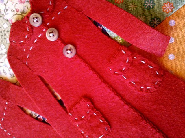 Red Coat Ornament 2