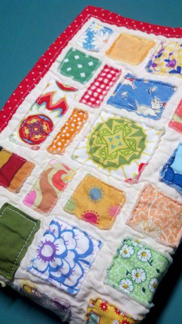 Scrap Fabric Doll Quilt6