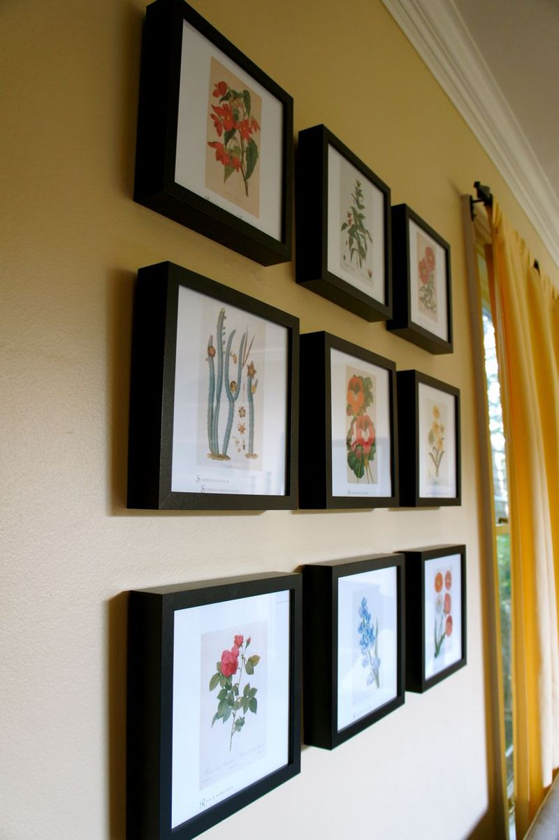 Framed Floral Prints2