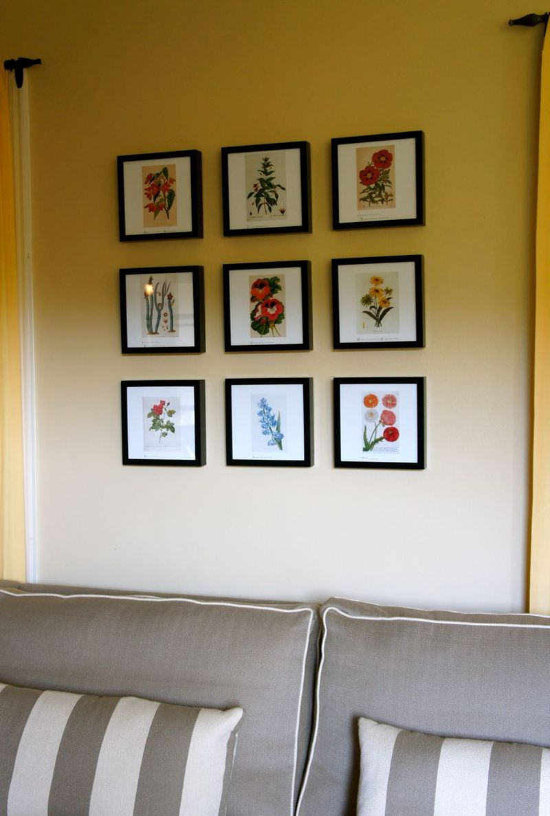 Framed Floral Prints1