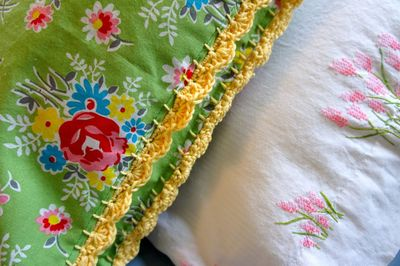 Crocheted Pillowcase1