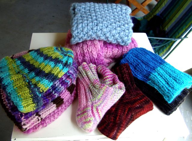 Hats, Scarves, Socks, and Neck Warmers