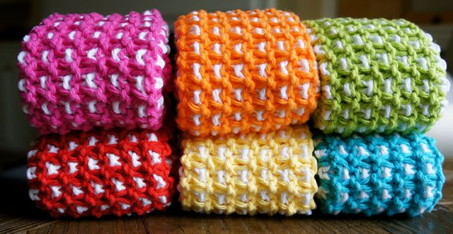 Rainbow Dishcloth