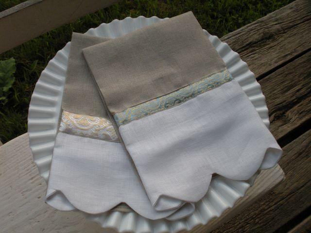 Linen Hand Towels