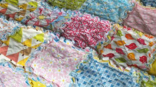 Rag Quilt Variations